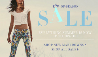 End-of-Season SALE | Everything Summer is Up to 70% Off