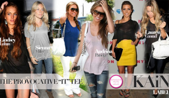 Heather's Fashion Tip......Get A KAiN Label Tee!