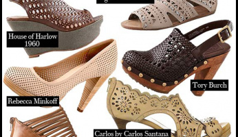 Spring Shoes: Cutouts on Classic Shapes