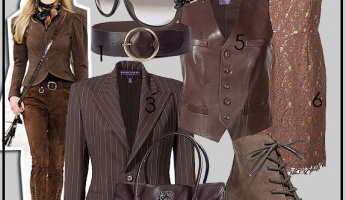 Hottest-Newest-Trend: Brown