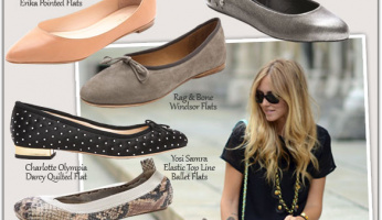 Style Guide: Ballet Flats for Fall
