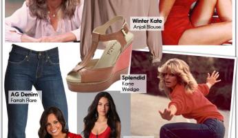 Style Icon: Farrah Fawcett