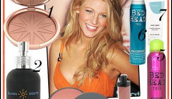 Celebrity Style Beauty: Be A Summery Goddess