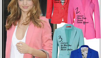 Time to Buy: Colored Blazer
