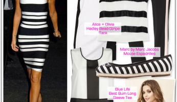 Trending: Black and White Stripes for Spring