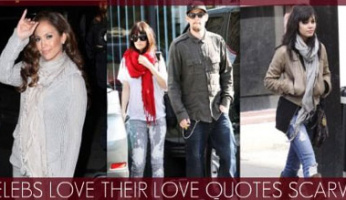 Love Quotes Scarves