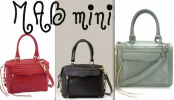 Rebecca Minkoff Morning After Mini Bag with Strap!