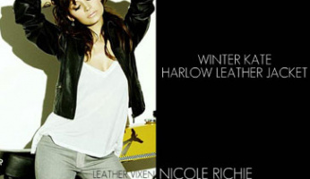Winter Kate Harlow Leather Jacket