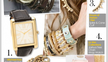 Watches + Bracelets Stack Up