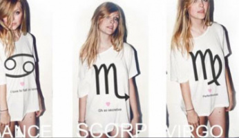 Wear your Heart on Your Sleeve with Wildfox's Astrology Tees