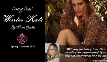 Winter Kate By Nicole Richie!