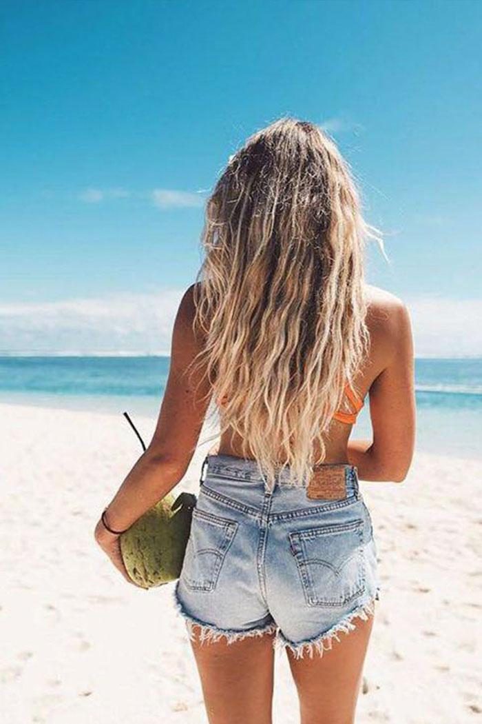 Blonde Beach Hair Coconut