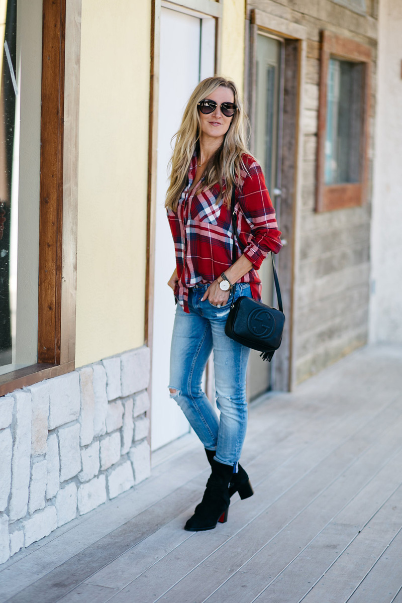 heather-celebrity-style-red-plaid