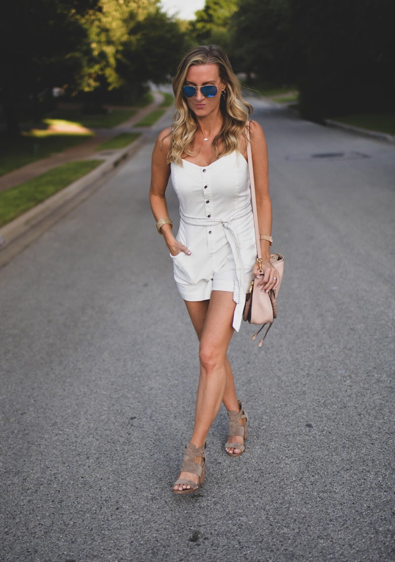 Transition a Romper Into Fall