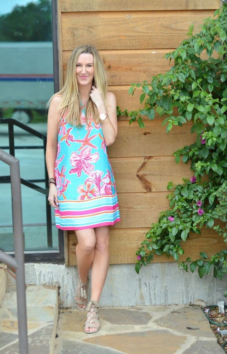 lily-shift dress-smile