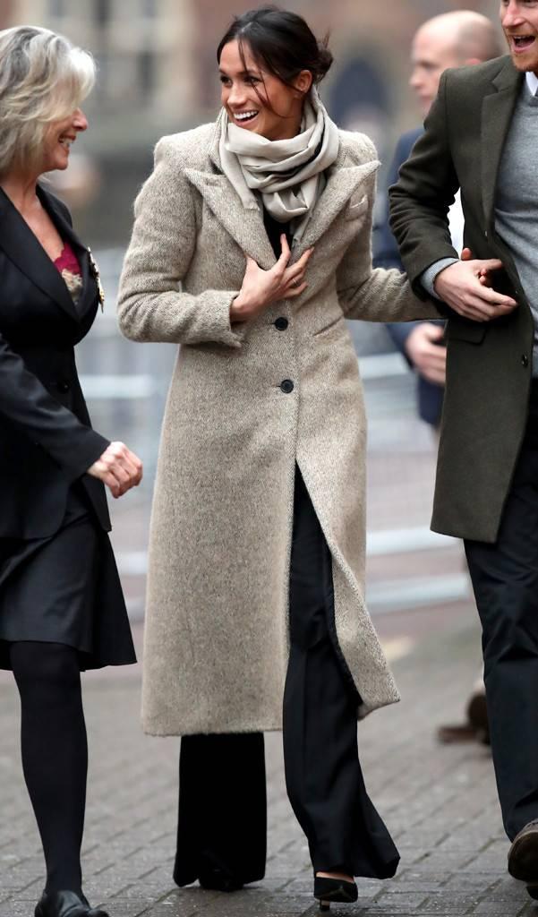 meghan markle smythe coat