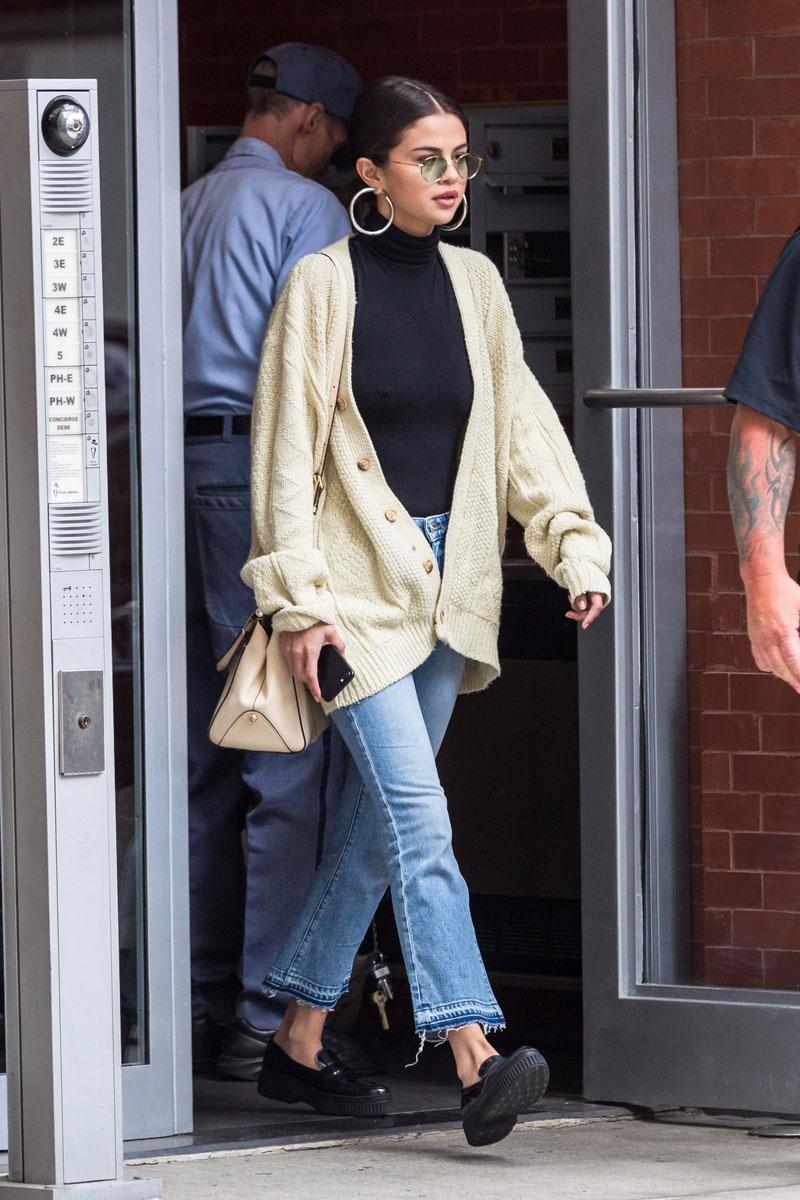 Selena Gomez Cardigan Sweater