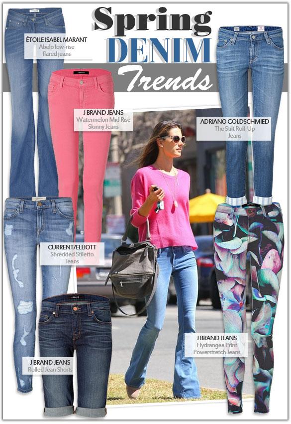 Spring Fashion Denim Trends