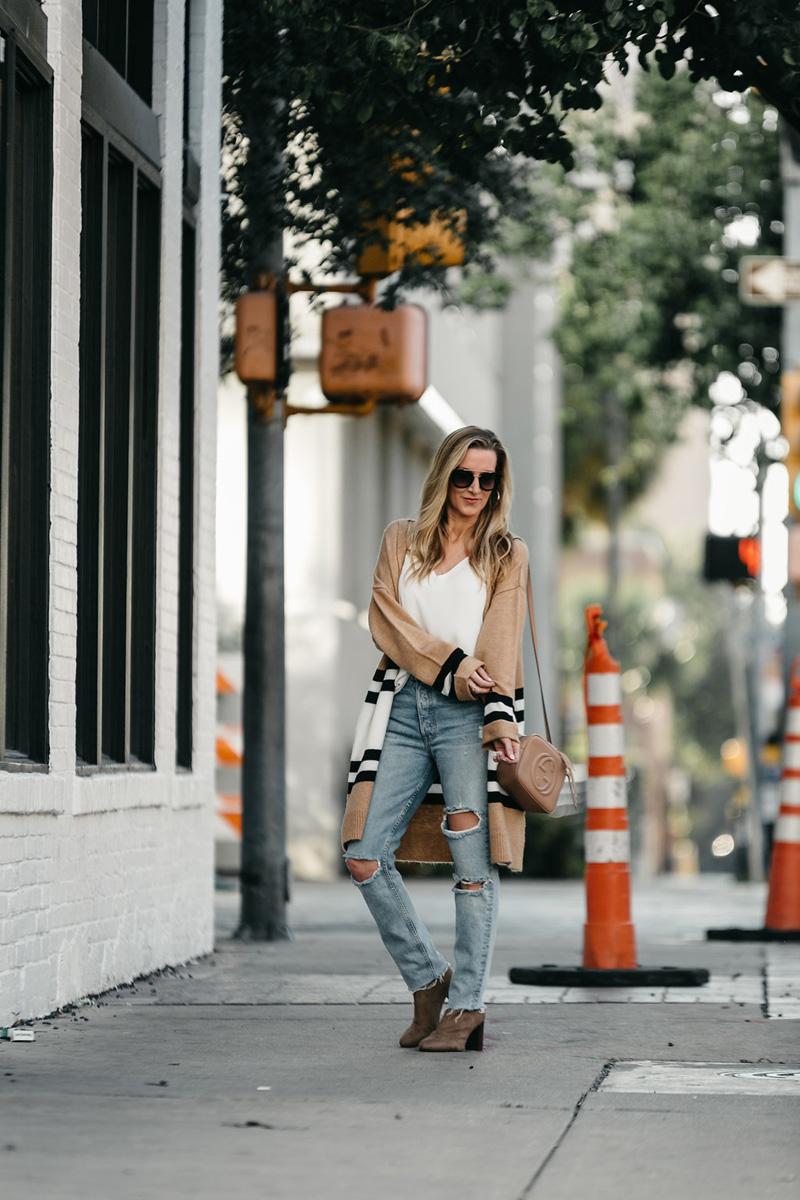 top-shop-stripe-cardigan-gucci-bag